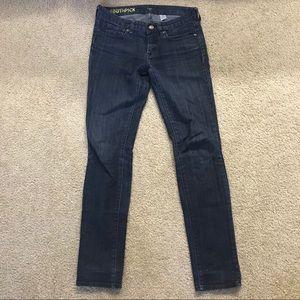 J. Crew Toothpick Jeans (Size 26)